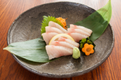 King Fish Sashimi - 9pcs